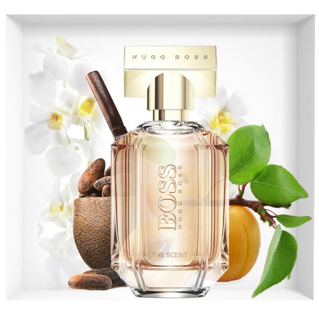 New fragrance Hugo Boss The Scent For Her