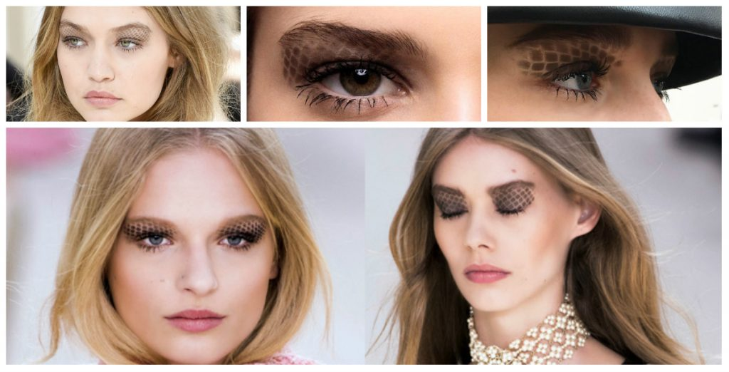 Pretty peepers Seen at: Chanel and Anthony Vaccarello