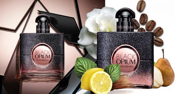 New fragrance 2017 – Yves Saint Laurent Black Opium Floral Shock