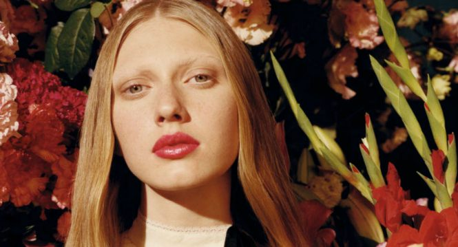 Gucci uncovers new sheer lipsticks in the spring garden
