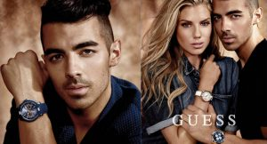 Joe Jonas new Guess watch campaign