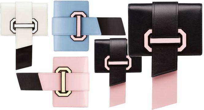 Prada Plex Ribbon bags