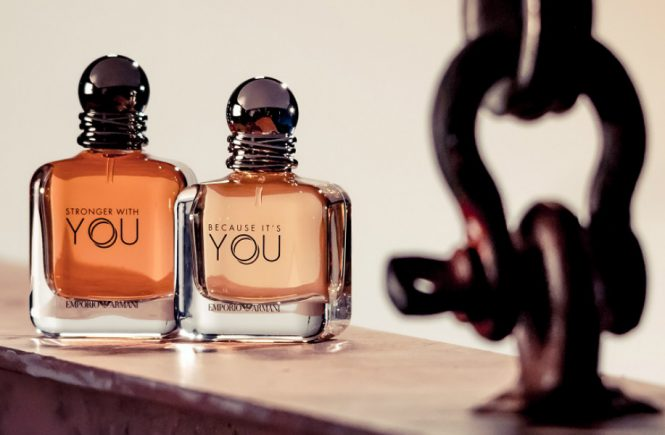 Armani launches Together Stronger duo of fragrance