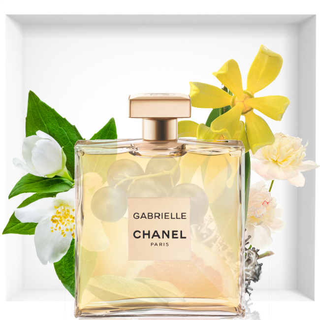 chanel gabrielle the new fragrance for woman reastars. Black Bedroom Furniture Sets. Home Design Ideas
