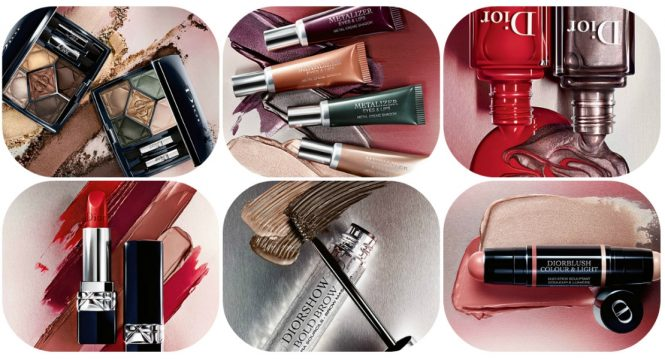 DIOR Metallics Makeup Collection – Fall Look 2017