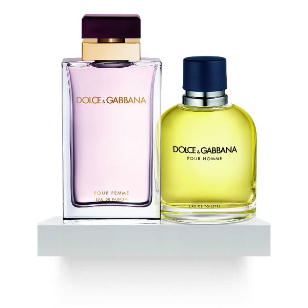 Dolce and Gabbana Pour Femme and Pour Homme