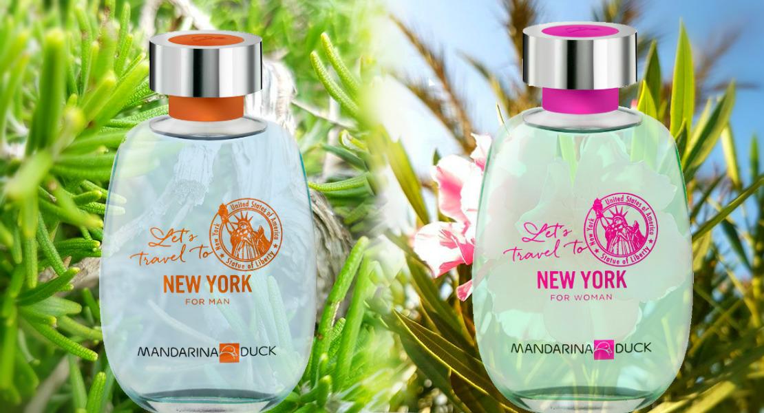Let 39 s travel to new york with mandarina duck reastars for Mandarina duck perfume