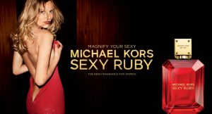 New fragrance Michael Kors Sexy Ruby Eau de Parfum