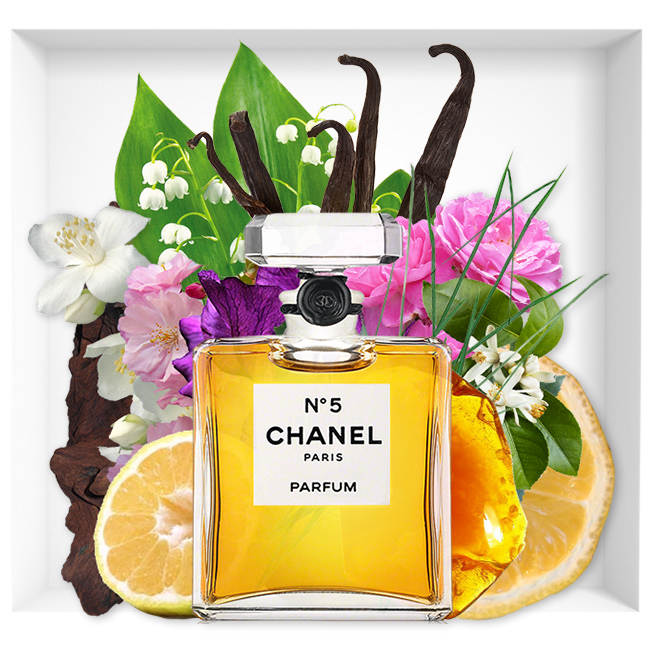 The mythical perfume Chanel N ° 5