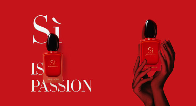 Armani Sì Passione new fragrance