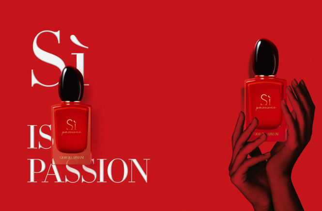 Armani Sì Passione new fragrance