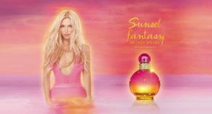 sunset fantasy britney spears new fragrance