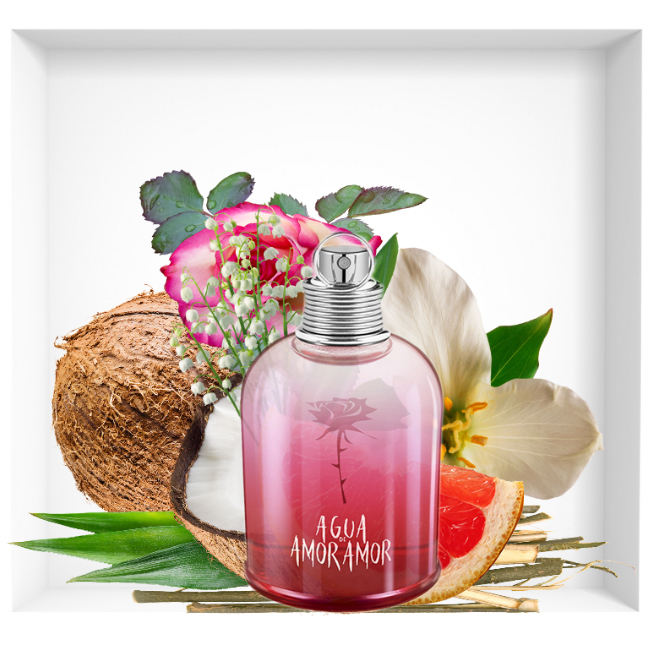 Agua de Amor Amor, new perfume signed by Cacharel