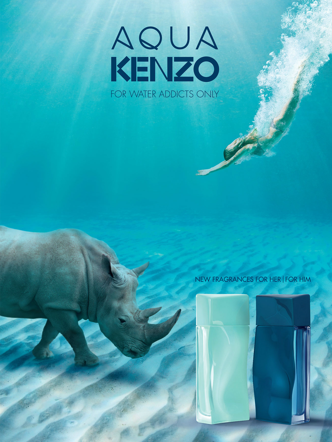 Aqua Kenzo pour Femme and homme