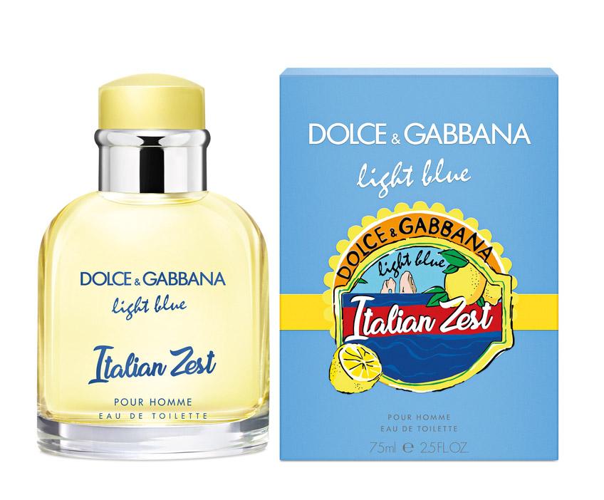 DOLCE & GABBANA LIGHT BLUE ITALIAN ZEST men