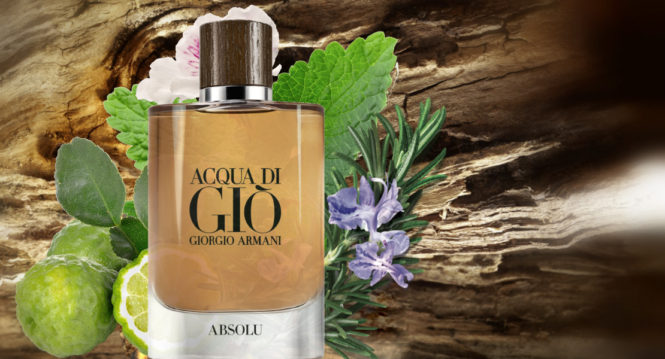 Get Back To Yourself with Giorgio Armani Acqua di Gio Absolu new perfume