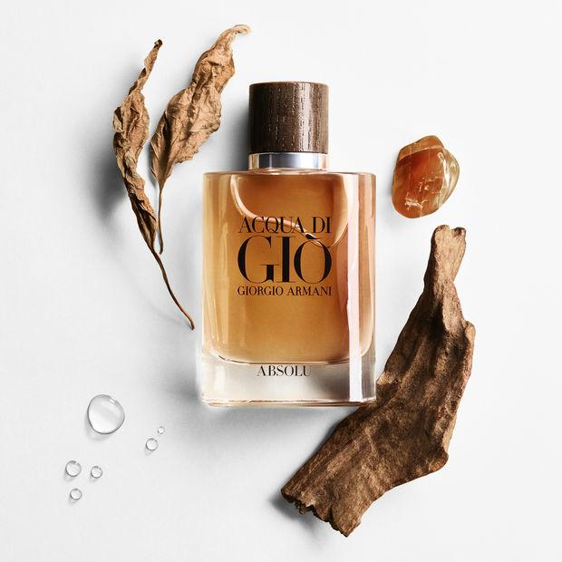 Introducing ACQUA DI GIO ABSOLU fragrance for men