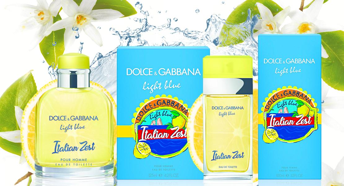 Italian Fragrance Light Dolceamp; New Gabbana Blue 2018 Zest nkP8wO0