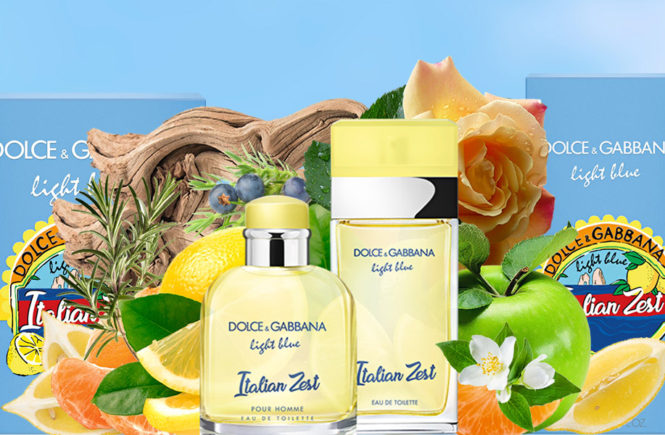 Light Blue Italian Zest, new fragrance Dolce & Gabbana 2018