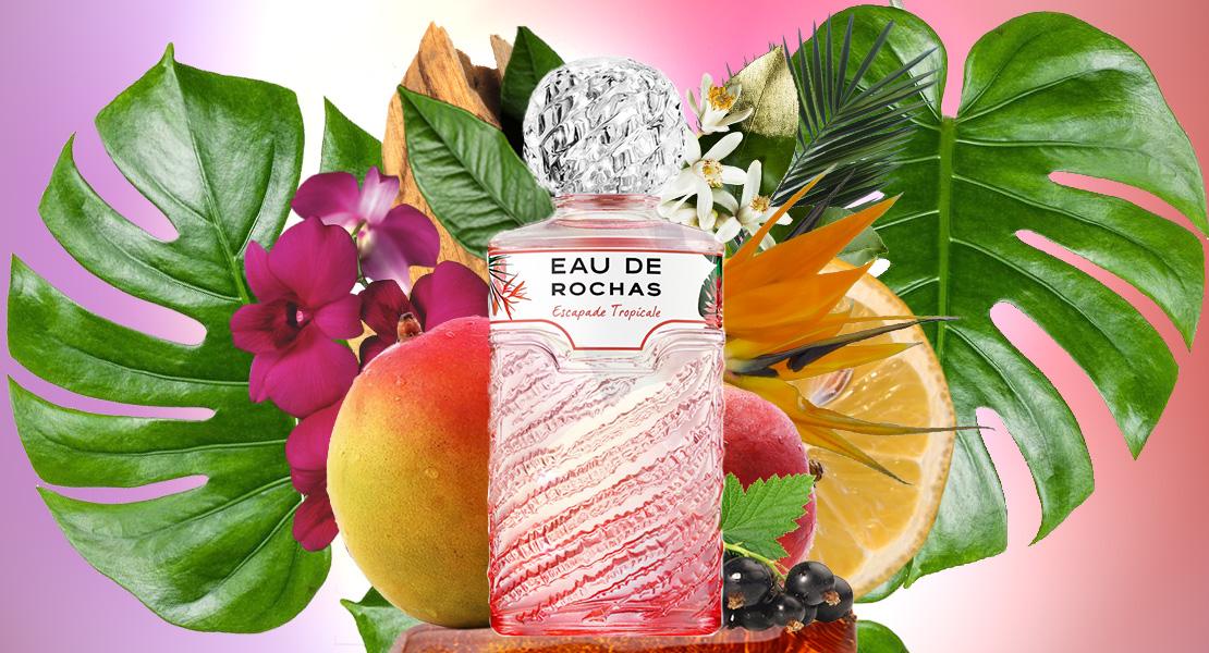 The summer and exotic spirit of Eau de Rochas Escapade Tropicale