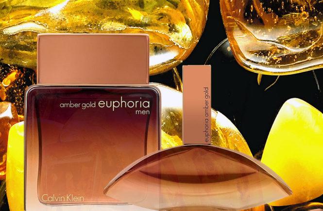 Euphoria Amber Gold Calvin Klein new fragrance 2018