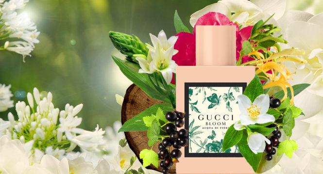 Gucci Bloom Acqua Di Fiori – energetic and springtime fragrance