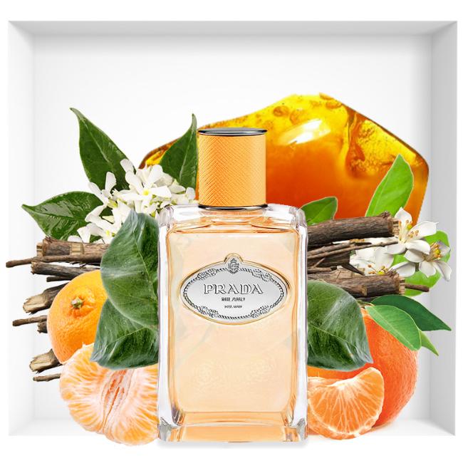 Les Infusions de Prada Mandarine new fragrance