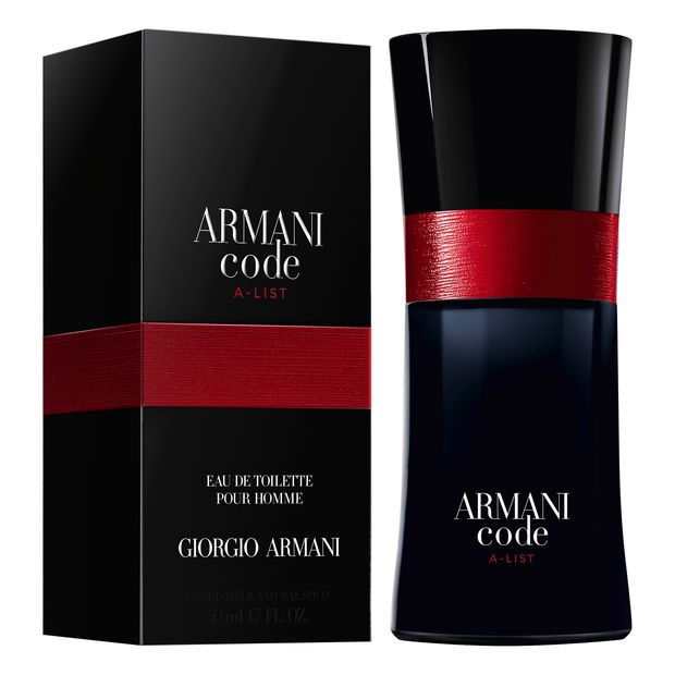 Armani Code A-List new fragrance