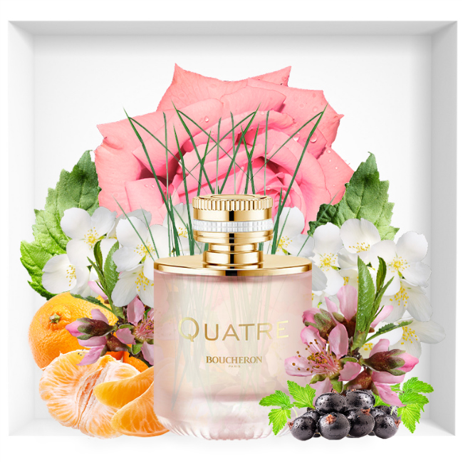Boucheron Quatre en Rose new fragrance 2018