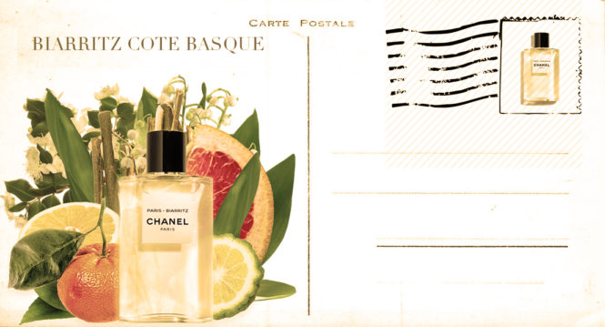 CHANEL Paris - Biarritz new eau de toilette 2018