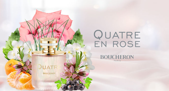 New perfume Boucheron Quatre en Rose​
