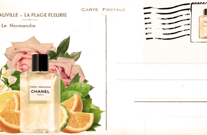 Paris-Deauville - new solar fragrance with Mediterranean spirit