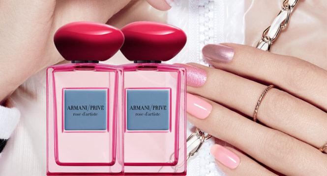 Armani Privé Les Éditions Couture Rose d'Artiste new perfume 2018
