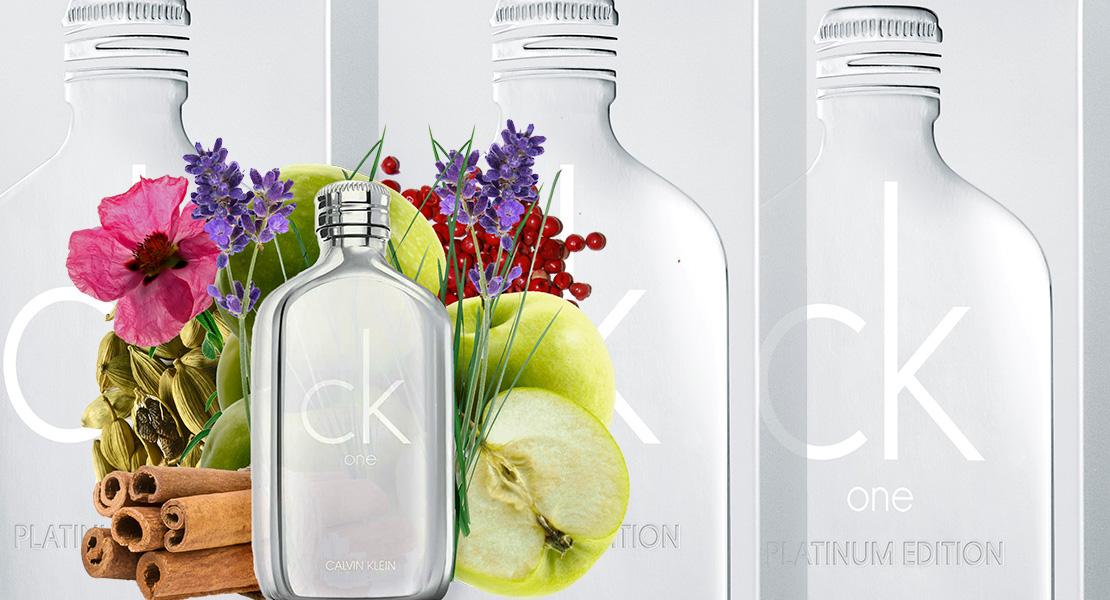 Calvin Klein One Platinum Edition 2018 new fragrance