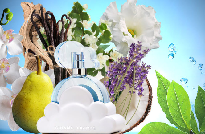 Cloud Ariana Grande new perfume