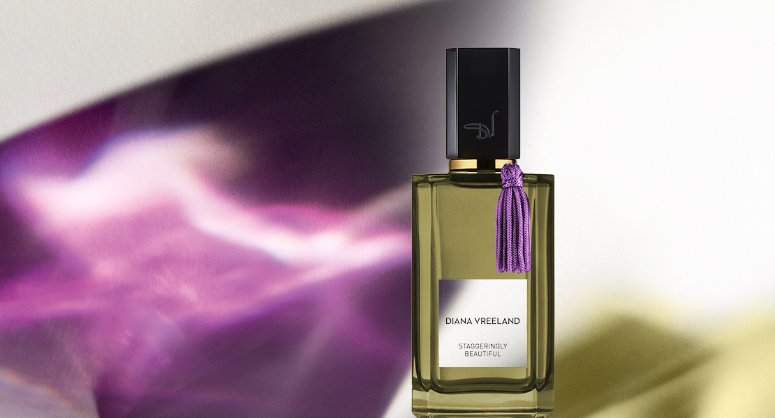 Diana Vreeland Staggeringly Beautiful new luxury fragrance