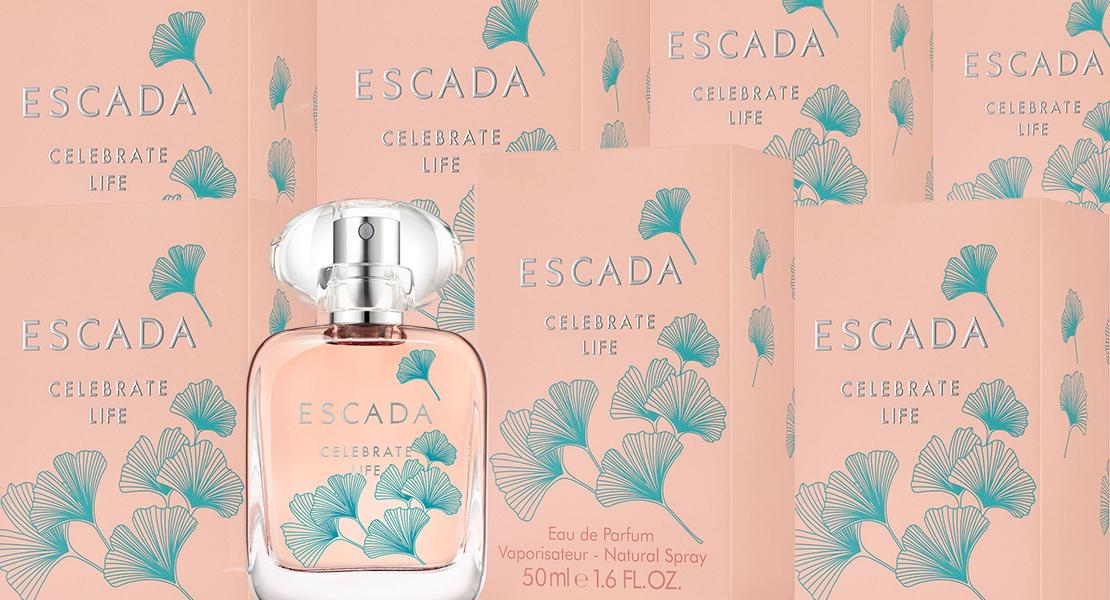 Escada Celebrate Life Eau de Parfum new fragrance for woman 2018