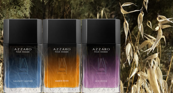 Azzaro Sensual Blends new men's fragrance collection