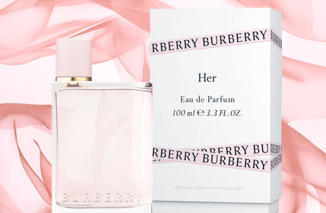 Burberry HER Eau de Parfum new fragrance 2018