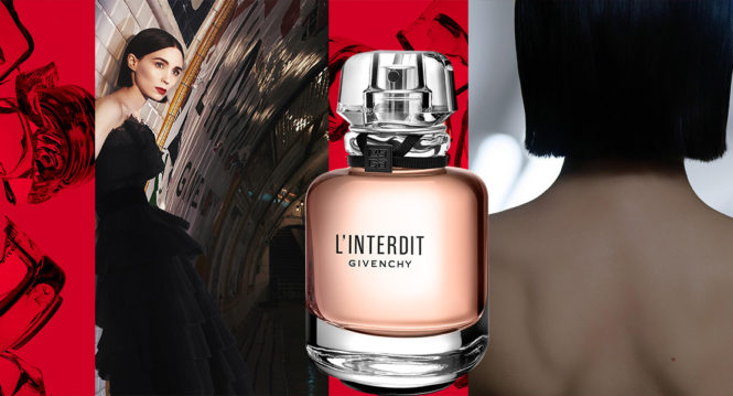 Givenchy L'Interdit eau de parfum new fragrance