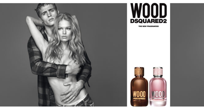 New DSQUARED² Wood fragrance