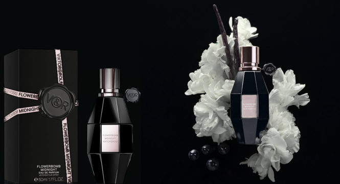 New fragrance Flowerbomb Midnight Viktor & Rolf new fragrance