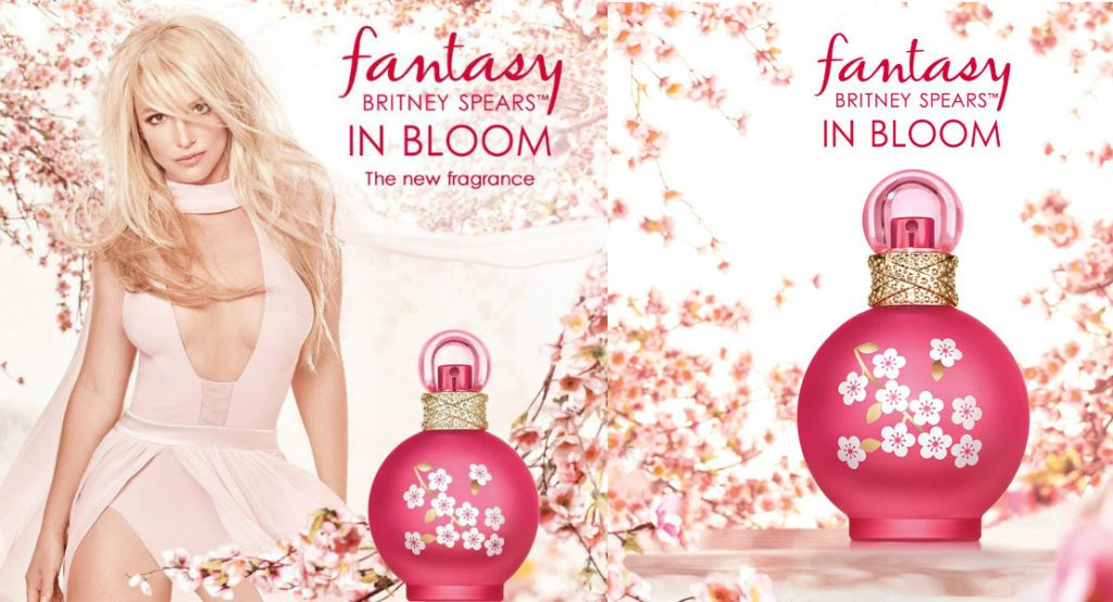 Britney spears fantasy in bloom the new fragrance for Britney spears perfume