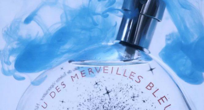 Hermes sparkles with new bleue edition of Eau des Merveilles