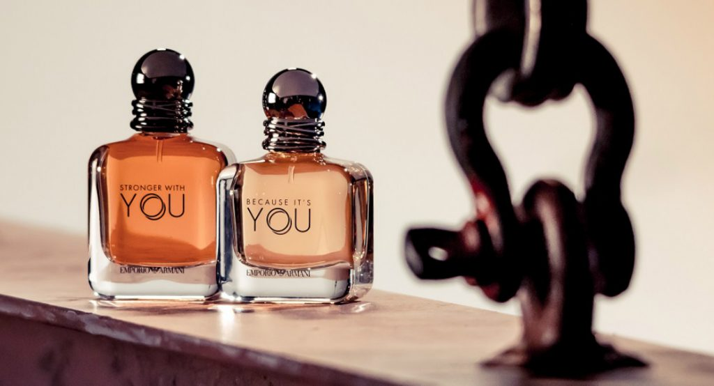 Armani Launches Together Stronger Duo Of Fragrances Reastars