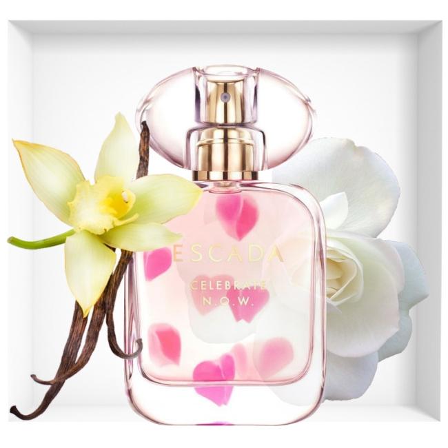 Escada Celebrate Now New Fragrance Reastars Perfume And
