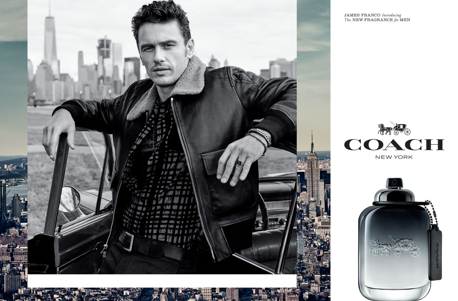 Coach for men eau de toilette takes you on a journey of endless possibilities evoking