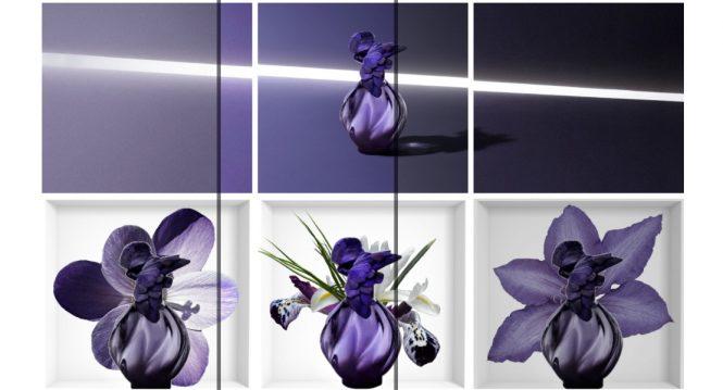 Nina Ricci L'Air du Temps Collection lumière Nuit Pourpre perfumes