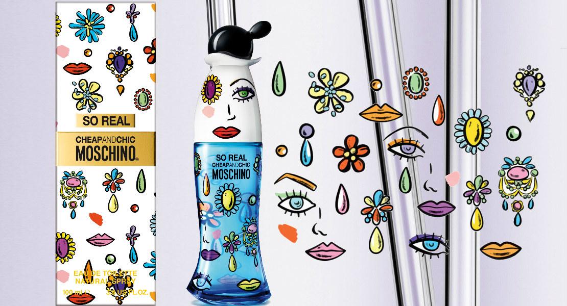 Moschino So Real Cheap & Chic   Reastars Perfume and Beauty magazine