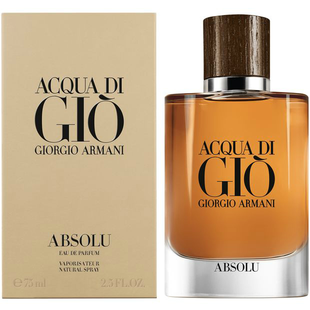 The New Fragrance Acqua Di Gio Absolu Reastars Perfume